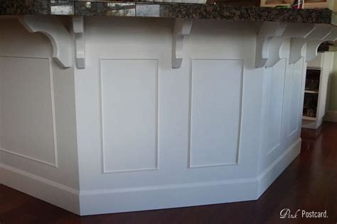 Kitchen Island idea   adding trim and molding   For the