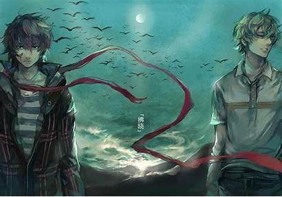 Anime Guy Moon Wallpapers Desktop Guys Boys