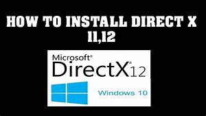 How To Install Directx Graphics Tools On Windows 10