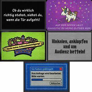 Fußmatte Mit Spruch : fu matte mit spruch fu abtreter teppich mit lustigen ~ Watch28wear.com Haus und Dekorationen