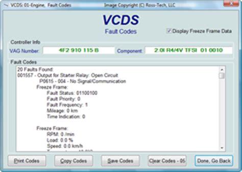 vw diagnose software ross tech vcds