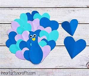 Heart Peacock Fun Family Crafts