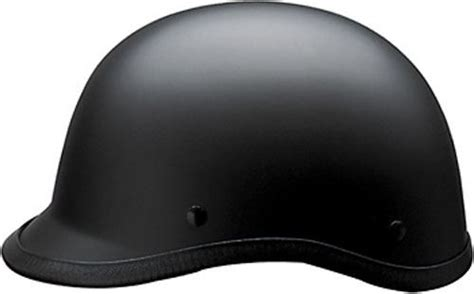 Hci 105 Polo Style Half Motorcycle Helmet Dot Approved Xs