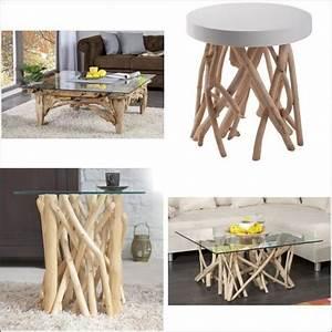 Table Basse En Bois Flotté : table basse bois flott tous les prix avec le guide meuble kibodio ~ Preciouscoupons.com Idées de Décoration