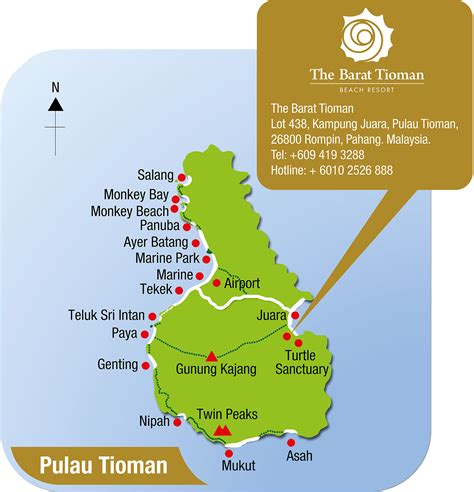 About Barat Tioman – Barat Tioman Beach Resort