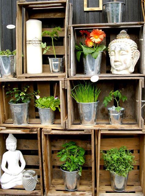 Alte Terrasse Verschönern by Gute Idee Zum Pflanzen Stapeln Container Gardening In