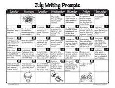 december writing prompts from lakeshore learning writing practice student