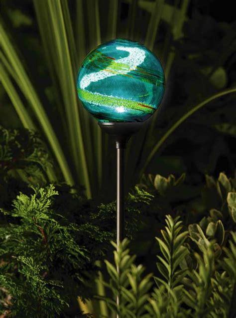 solar globe lights outdoor solar powered garden light envirogadget part 3
