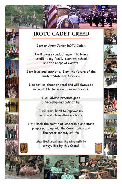nixa jrotc cadet creed