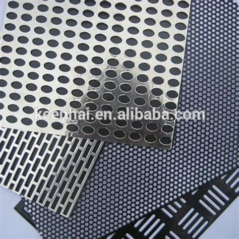 foshan supplier stainless steel lowes perforated sheet