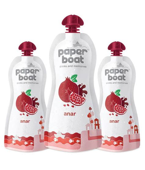 Paper Boat Drinks by Paper Boat Anar Soft Drink Juice 250 Ml Buy Paper Boat