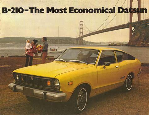 Datsun Car : Datsun Sunny B-210 Brochure Cover