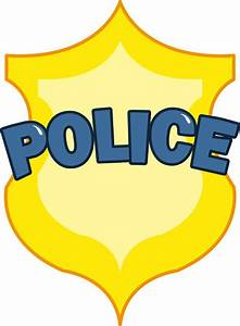 Police Officer Badge Clipart – 101 Clip Art