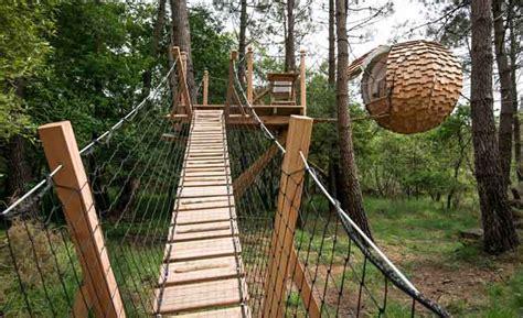 chambre hote quiberon cabanes dans les arbres et hébergements pour nuit insolite