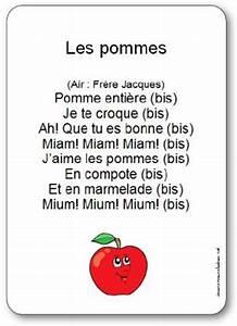 Rechercher Une Chanson Grace Aux Paroles : comptine les pommes paroles illustr es imprimer gratuitement les pommes ~ Medecine-chirurgie-esthetiques.com Avis de Voitures
