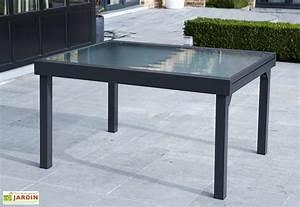 Table De Salon Extensible : table de jardin extensible modulo 105x135 270x72cm l l h ~ Teatrodelosmanantiales.com Idées de Décoration