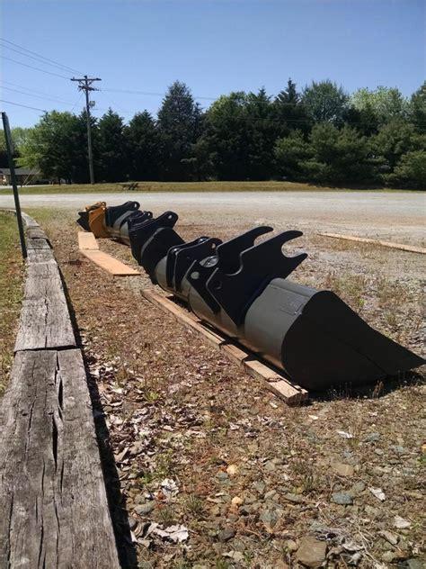 excavator ditching buckets categorized  excavator weight class