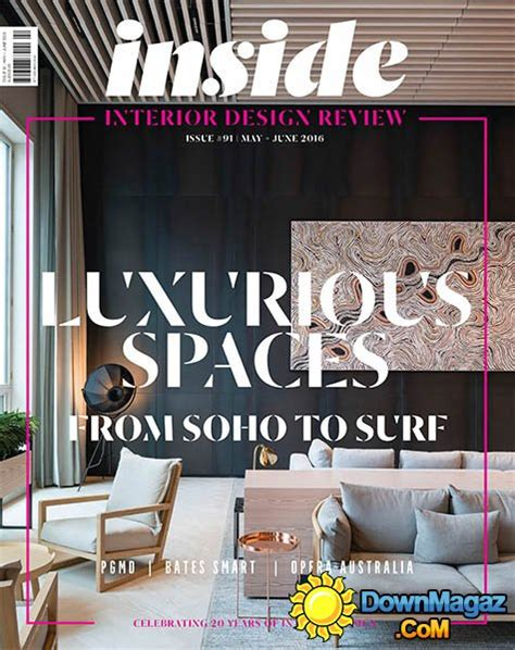 (inside) Interior Design Review  May  June 2016