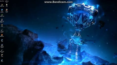 How To Make League Of Legends Animated Wallpaper - league of legends animated chionship cup wallpaper