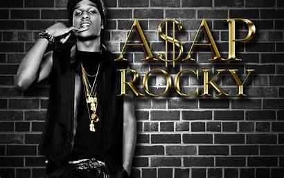Rocky Asap Rakim Gold Wallpapers Rapper Singer