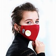 Reusable Face Mask Antibacterial PM2.5 Protection Mouth ...