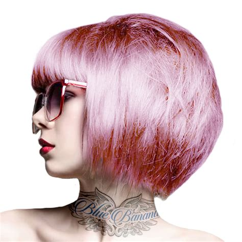 Crazy Color Semi Permanent Candy Floss Pink Hair Dye Hair