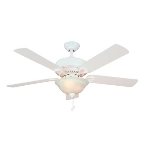 Harbor Avian Ceiling Fan Troubleshooting by Shop Harbor 52 Quot Ii White Ceiling Fan At