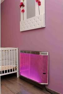 Radiateur à Rayonnement : un radiateur rayonnant de couleurs chauffage ~ Melissatoandfro.com Idées de Décoration