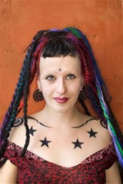 american girl punk rock tattoo