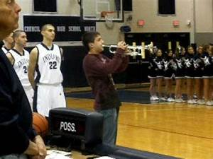 Tyler Plays Trumpet National Anthem at Council Rock High ...