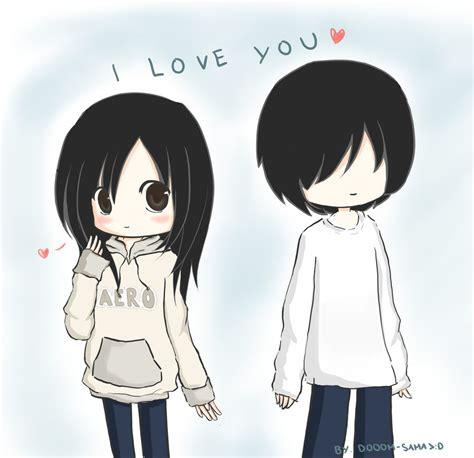 anime chibi kawaii love chibi i love you by dooom sama on deviantart