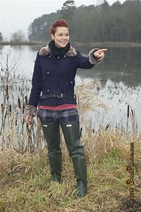 Green Rubber Waders Bottes Pinterest