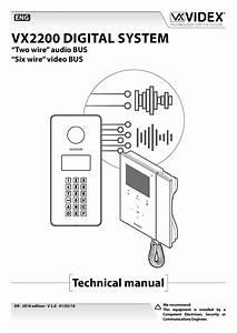 Videx Vx2200 Wiring Diagram
