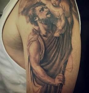 The 25+ best St christopher tattoo ideas on Pinterest | St ...