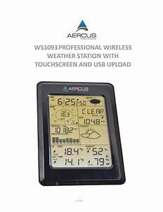 Aercus Ws1093 Installation Guide