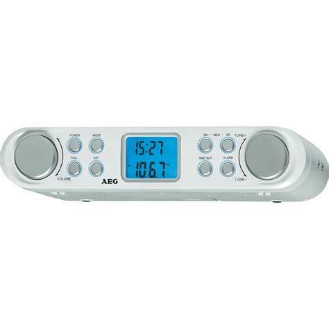 radio de cuisine radio de cuisine fm aeg krc 4344 blanc conrad fr