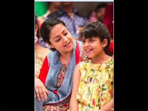 actress jyothika surya facebook jyothika suriya daughter diya unseen photos photos 773339