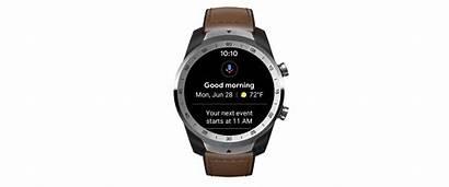 Assistant Os Wear Swipe Google Smartwatch Redesign