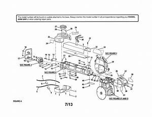 Looking For Craftsman Model 9058 Radial Arm Saw Repair