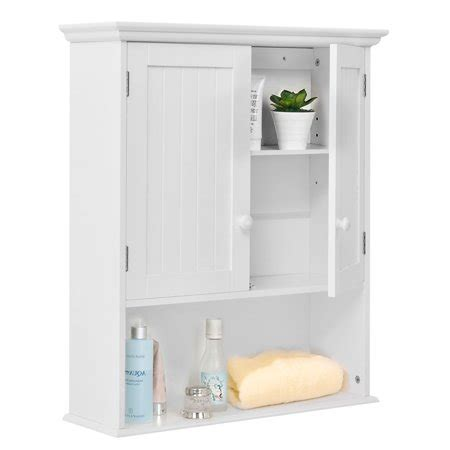 Wall Mount Cabinet Bathroom by Costway Wall Mount Bathroom Cabinet Storage Organizer