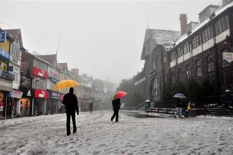 weather snowfall delhi snow places unlikely rain rawat hindustan santosh times week hills many livemint