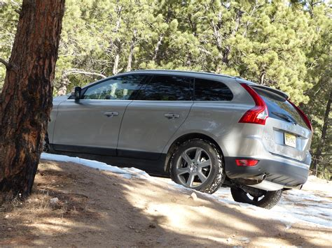 review  volvo xc  surprises   ski resort
