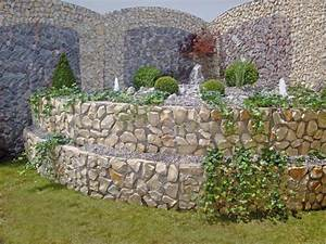 Steine Für Beeteinfassung : gitteroptik ad steinmauern ohne korb ~ Buech-reservation.com Haus und Dekorationen