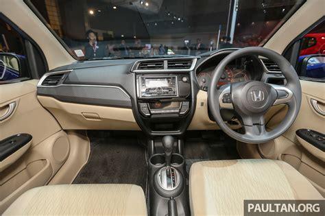 honda brio facelift   interior launched indonesia