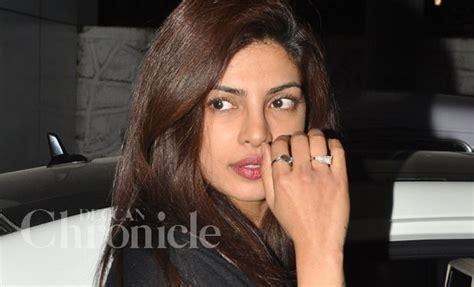 Priyanka Chopra Flashes Huge New Diamond Ring. Hand Drawn Wedding Rings. Pyrite Engagement Rings. Black Color Engagement Rings. Coin British Rings. 4 Carat Diamond Rings. First Engagement Rings. Diy Chain Rings. Cost Engagement Rings