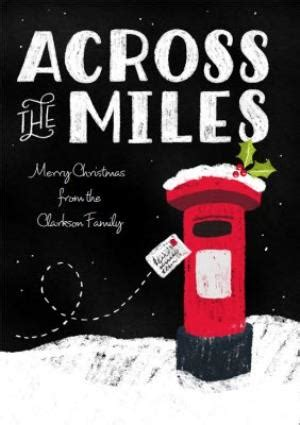 dusty   miles personalised christmas card moonpig