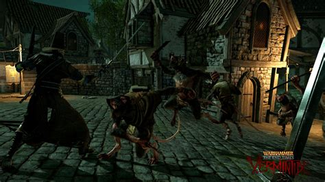 warhammer  times vermintide announced  ps xbox