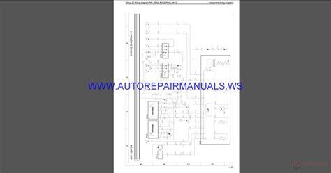 volvo trucks fh wiring diagram wd service manual