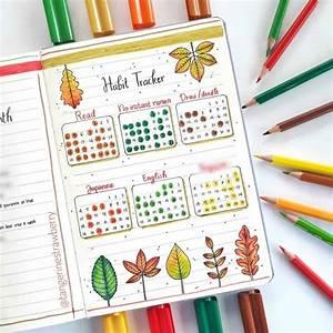 30 simple habit tracker bullet journal ideas for 2021