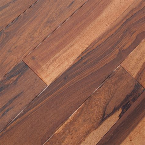 Macchiato Pecan Chocolate Hardwood Flooring   Prefinished